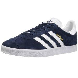 Adidas Gazelle blue suede shoes 8.5M